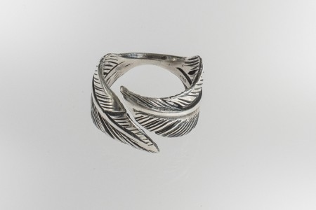 Ring Dobbel Feather